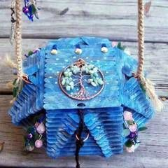 Popsicle Stick Purses