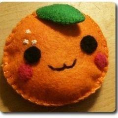 Felt Orange