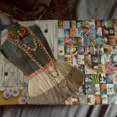 Shoe Box Decoupage