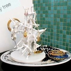 Dollhouse Chair Jewelry Tree