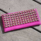 Studded Suede Pouch