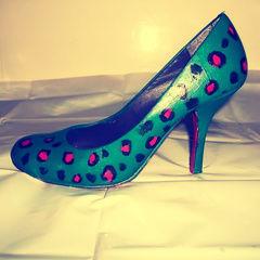 Leopard Print Heels.