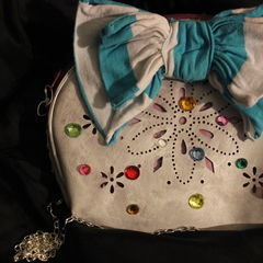 Alice In Wonderland Inspired Clutch Purse