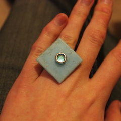 Tile Statement Ring