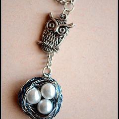 Owl Nest Necklace