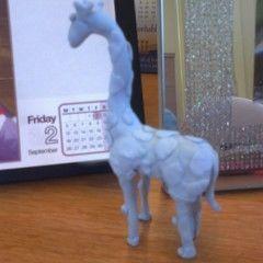 Blue Tack Giraffe