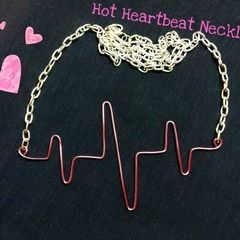Hot Heartbeat Necklace
