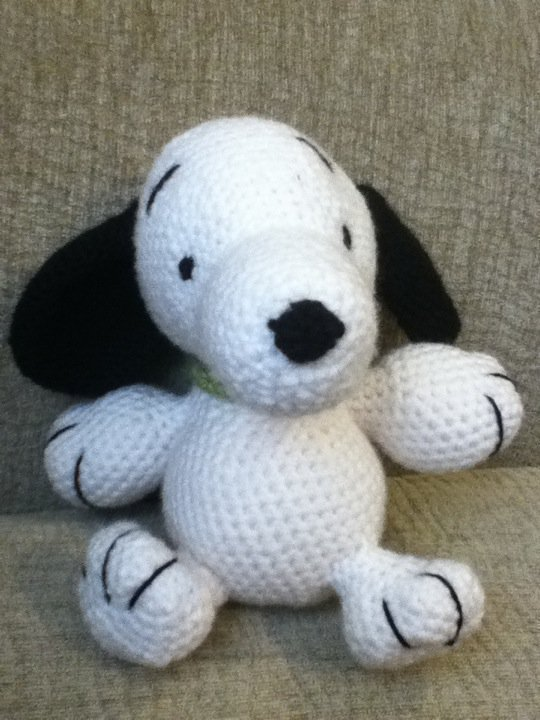 Crocheted Snoppy Pattern Crochet And Knitting Patterns