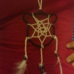 Bear Dreamcatcher Necklace