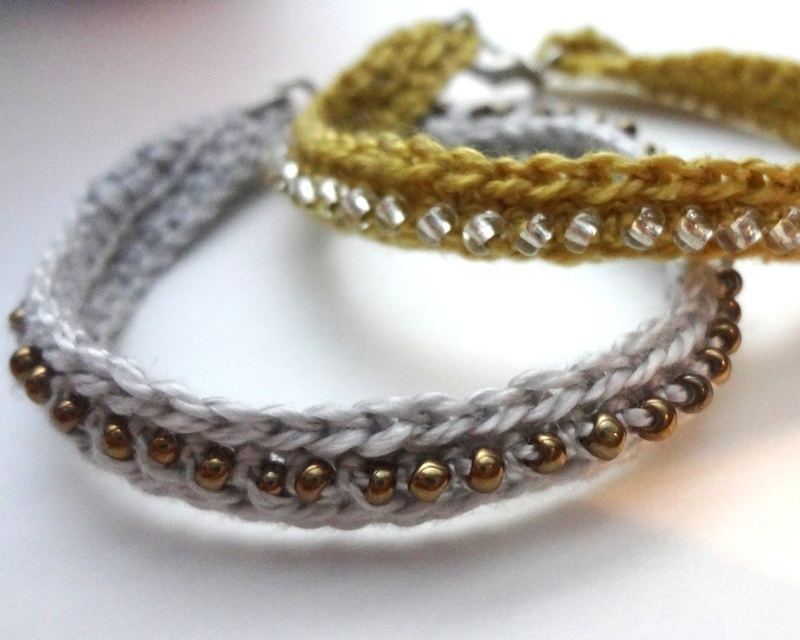 Crochet Bead Bracelet Pattern Crochet Patterns