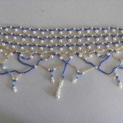 Victorian Style Beaded Collar