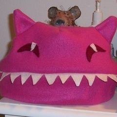 Monster Cat Hat