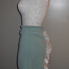 Ruffle Bustle Skirt