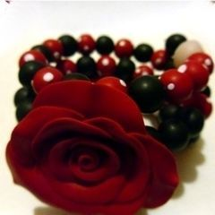 Rockabilly Rose Bracelet