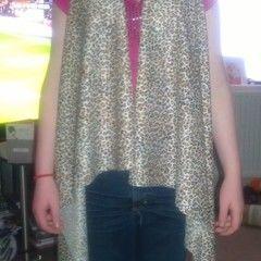 Leopard Print No Sew Waistcoat.
