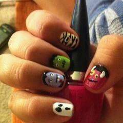 Monster Mash Nails!