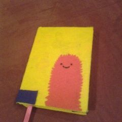 Felted Covered Diary