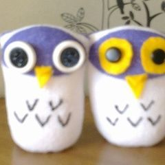 Owl Sock Doll