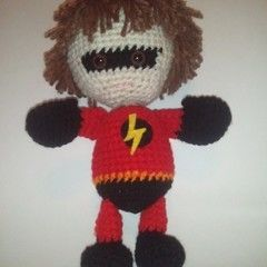 Mr. Incredible Doll   Crochet