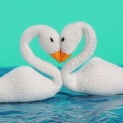 Swan Plushies