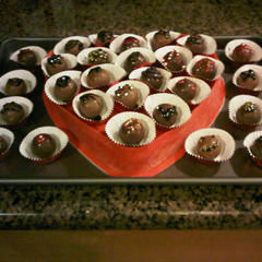 "Valentine's ""Box Of Chocolates"" Cake"