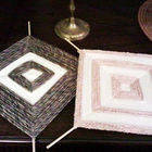 Square small string art 8