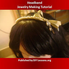 Free Fashionable Headband Tutorial
