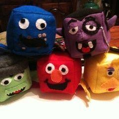 Sesame Street Cubies
