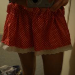 Minnie Mouse Inspired Skirt