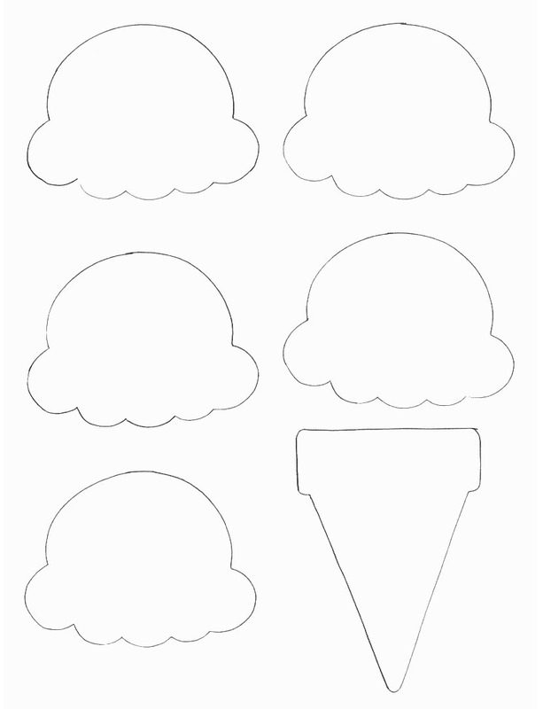 Displaying (20) Gallery Images For Ice Cream Scoop Template...