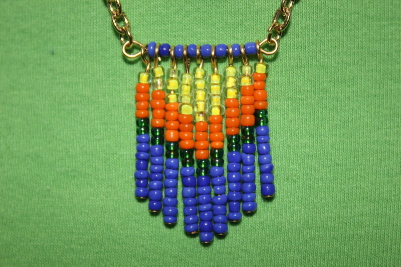 seed bead tassel necklace 183 how to make a tassel necklace