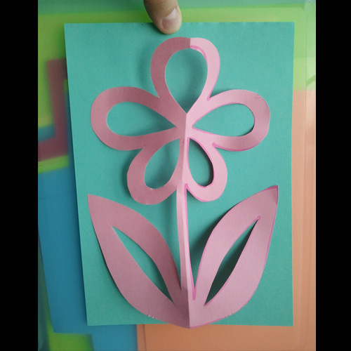 Kirigami Flower 183 How To Make A Cut Out Card 183 Papercraft Cardmaking And Scrapbooking On Cut