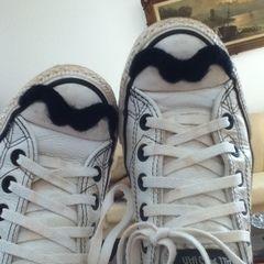 Mustache Converses!!