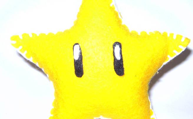 Felt Mario Star