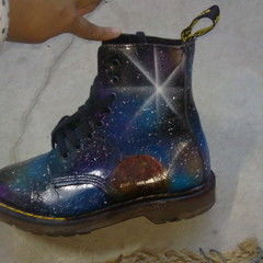 Galaxy Dr Marten Shoes