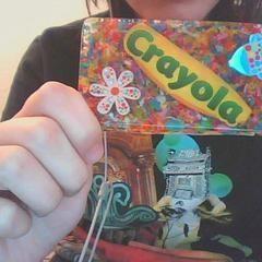 Crayola Crayon Necklace