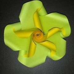 Origami Twist Flower