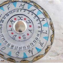 Necklace Circular Calendar