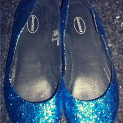 Glitter Shoes.