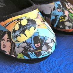 Batman Comic Shoes