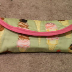 Make Up Brush Roll Up Bag
