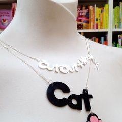 Cricut Name Necklace