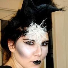 Romantic Goth Hair And Make Up