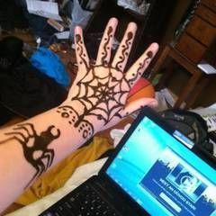 Spider Henna