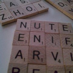 Scrabble Tile Coasters (!)