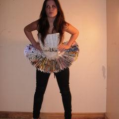 Bunty Annual Paper Skirt