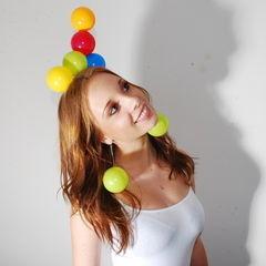 Plastic Play Ball Headdress