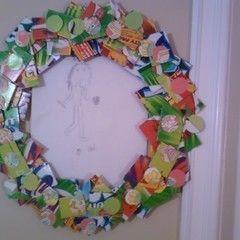 Cardboard Wreath/ Frame