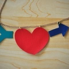 Heart + Arrow Necklace