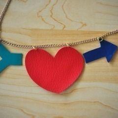 Heart + Arrow Necklace